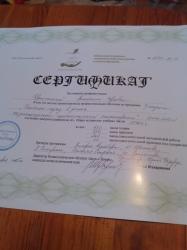 Сертификат по гештальт-терапии, 2 ступень (квалификация гештальт-терапевт)